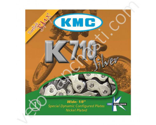 Цепь KMC K-710 BMX/Single/Freestyle