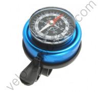 Велосипедный звонок с компасом