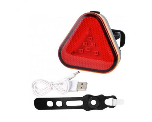 Велофонарь задний Baisk BSK-2288, аккум.Li-ion, micro USB