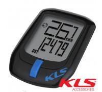 Велокомпьютер проводной KLS DIRECT чёрно-синий
