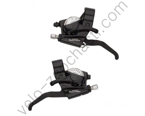 Моноблоки Shimano ST-EF40 3/7 Tourney
