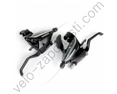 Моноблоки Shimano ST-EF 65 Altus, Acera 3/8