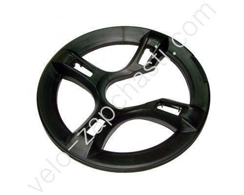 Защита цепи диаметр по отверстиям 144 мм черная