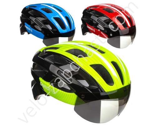 Шлем велосипедный ONRIDE Hill с визором