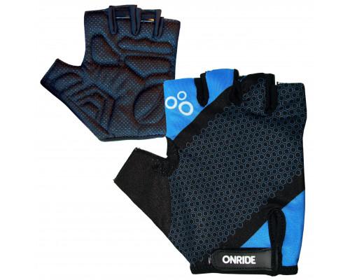 Велоперчатки ONRIDE TID синий