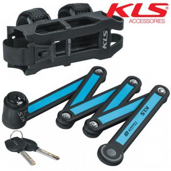 Велозамок KLS Fold 30 синий