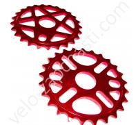 Звезда BMX Alu красная