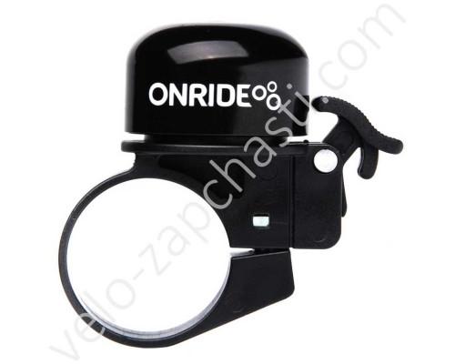 Велосипедный звонок ONRIDE DIN 31.8 мм
