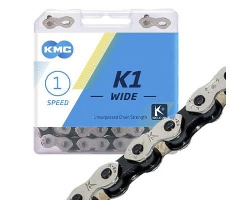 Цепь для велосипеда KMC K1 Wide BMX