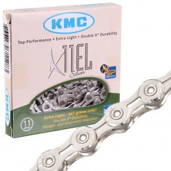 Цепь для велосипеда KMC X11EL, 11 скоростей