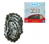 Цепь для велосипеда KMC Z33 brown