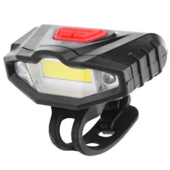 Фара передняя KK-901 +2 LED, аккумулятор Li-ion, USB