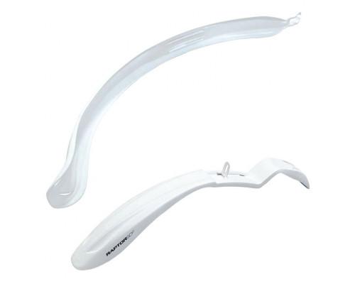 Крылья велосипедные 26-28 SIMPLA RAPTOR SDS белые