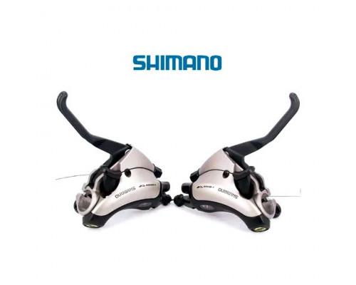 Моноблоки Shimano Acera ST-EF35, пара 3+8 скоростей +тросики