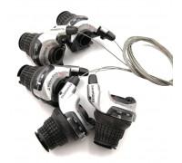 Манетки Shimano SL-RS41 ревошифт 3/7 скоростей