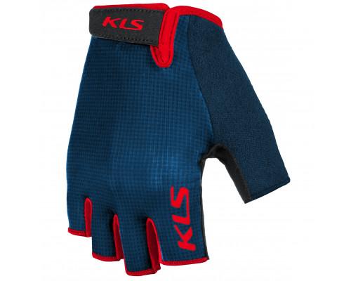 Велоперчатки KLS Factor 021 синие