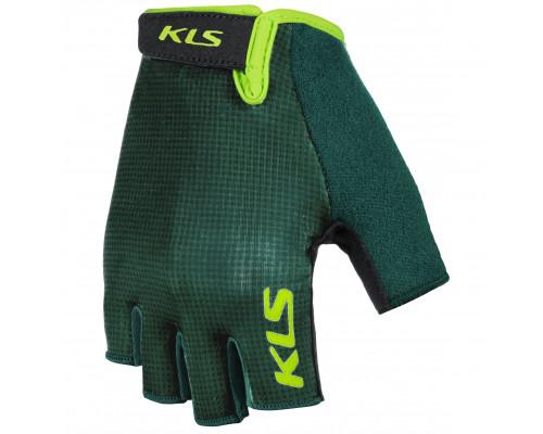 Велоперчатки KLS Factor 021 зеленые