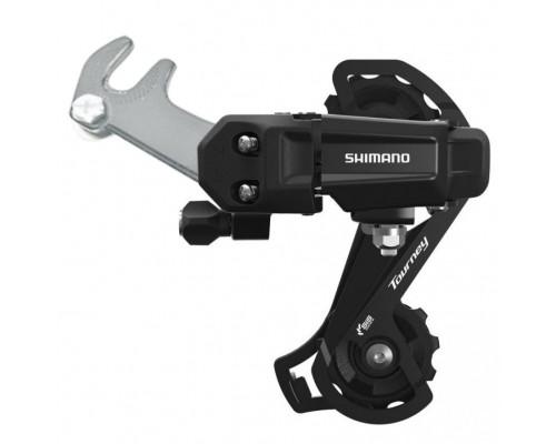 Задний переключатель Shimano Tourney RD-TY200-SS 6/7 скоростей (под крюк)