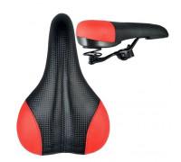 Вело-седло на пружинах карбон