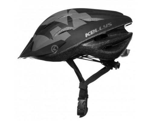 Шлем велосипедный KLS Blaze 018 черный матовый