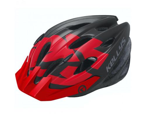 Шлем велосипедный KLS Blaze 018 красный глянец