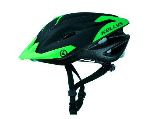 Шлем велосипедный KLS Blaze 018 зеленый матовый