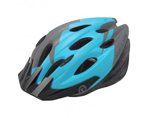 Шлем велосипедный KLS Blaze 018 синий глянец