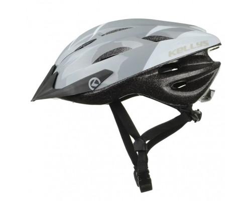 Шлем велосипедный KLS Blaze 018 белый глянец