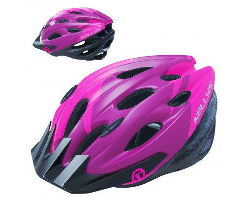 Шлем велосипедный KLS Blaze 018 розовый глянец