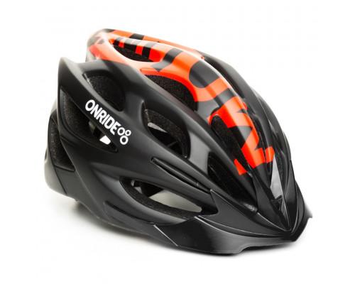 Шлем велосипедный ONRIDE Mount красный матовый