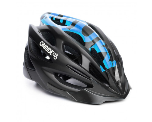 Шлем велосипедный ONRIDE Mount синий матовый