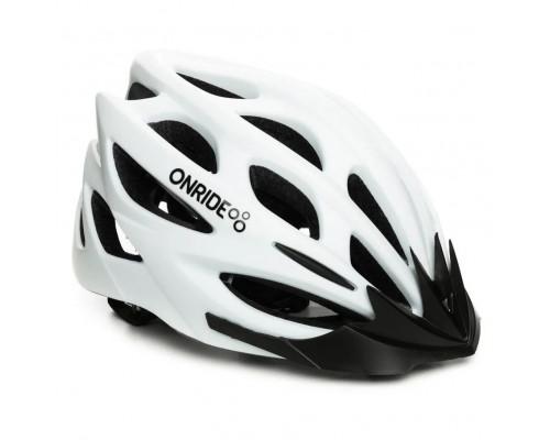 Шлем велосипедный ONRIDE Mount белый матовый