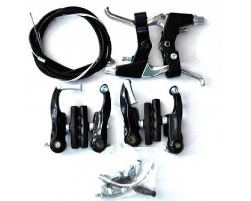 Тормоз V-brake задний+передний в сборе SYPO YD-V29