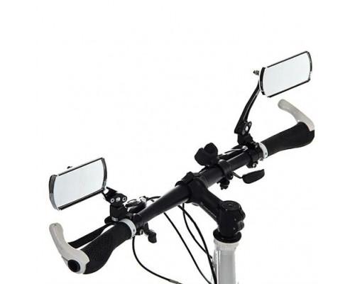 Зеркала для велосипеда  JZ-004 ПАРА алюминий Акция !